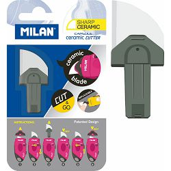 Keramički nožić za skalpel MILAN CAPSULE BWM10338 blister P12/96 NETTO