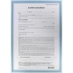 Zadužnica bjanko EC- I-638/BZ OPTIMA P100/600
