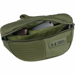 Torbica pojasna Under Armour, Waist bag, GreenBlack, 1330979-315 NETTO