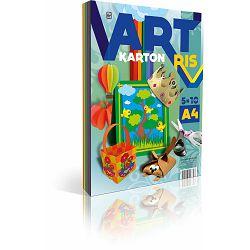 Art Karton Ris A4, 50 listova (5x10 boja), 250 g