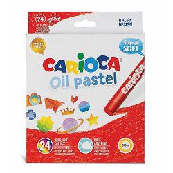 Pastele uljne CARIOCA 1/24 jumbo supersoft 43278 P6/24