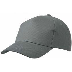 Kapa BASIC 5 pamučna siva, čičak P50/200