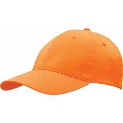 Kapa BASIC 6 pamučna narančasta, čičak  P50/200