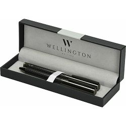Set pisaći Wellington Carbon ol.kem + roler antracit u poklon kutiji P1/300