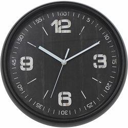 Sat zidni Burano crni promjer 30,48 cm P12