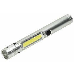 Baterijska lampa PENLIGHT srebrna