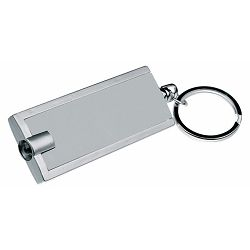 Privjesak RECT ABS s led svjetlom srebrni P50/1000