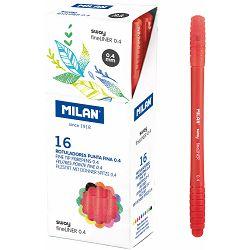 Flomaster fineliner MILAN 0,4 SWAY crveni P16/672
