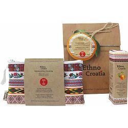 Poklon paket Ethno Croatia Mandarina toaletna torbica i osvj. miris