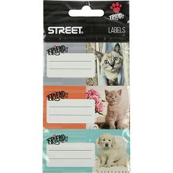 Naljepnice za bilježnice STREET FRIENDS 9/1 bls 63328 P24/240/960
