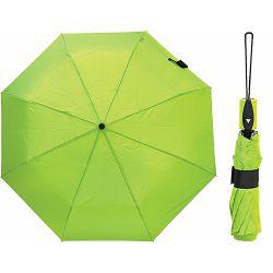 Kišobran Lema sklopivi automatski, gumirana ručka, zeleni