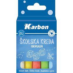 Kreda šk. u boji KARBON okrugla 1/10 P66