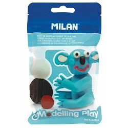 Plastelin MILAN Modelling Play 100 g svjetlo plavi P12/72