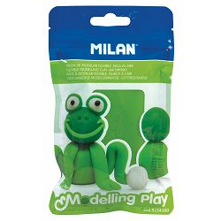 Plastelin MILAN Modelling Play 100 g svijetlo zeleni P12/72