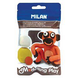 Plastelin MILAN Modelling Play 100 g smeđi P12/72