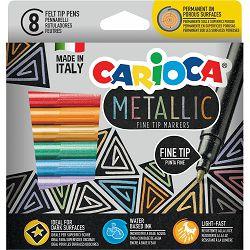 Flomasteri 1/8 CARIOCA Metallic 43162 P24