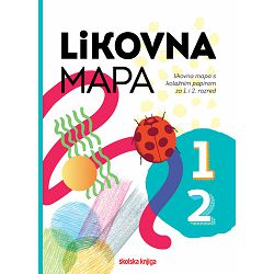 Mapa za likovni odgoj ŠK s kolaž pap. UMJETNOST I JA 1-2 P1/10/400