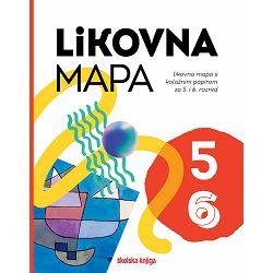 Mapa za likovni odgoj ŠK s kolaž pap. UMJETNOST I JA 5-6 P1/10/400