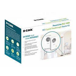 D-LINK PowerLine AV2 1000 HD Gigabit Kit