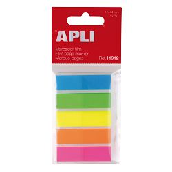Blok Apli zastavice fluorescentne 12x45mm 25/5 25L 11912