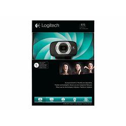 LOGI C615 HD Webcam USB black