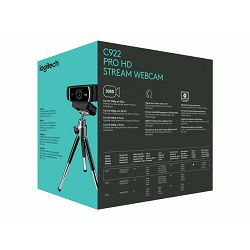 LOGI C922 Pro Stream Webcam - USB