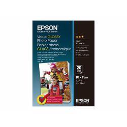 EPSON Value Photo Paper 10x15cm 20 sheet