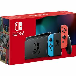 Nintendo Switch Console - Red & Blue Joy-Con HAD