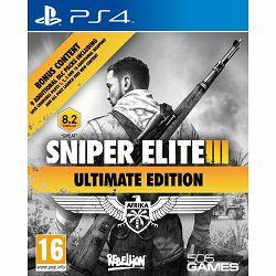 Sniper Elite III Ultimate Edition & 9 DLC Packs PS4