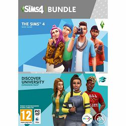 The Sims 4 Base Game + The Sims 4 EP8 Discover University PC