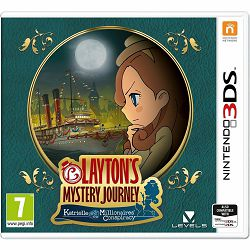 Layton's Mystery Journey Katrielle and The Millionares Conspiracy 3DS