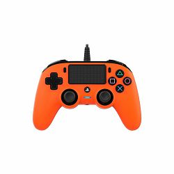 Bigben Wired Nacon Controller PS4 3m kabel (PC compatible) narancasti