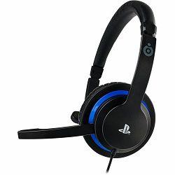 Bigben PS4 Official Sony licensed Communicator Headset crne, 3.5mm jack plug