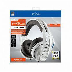RIG 400HS white službene Sony Offiicial stereo headset for PS4™/PS5™ žičane gaming slušalice