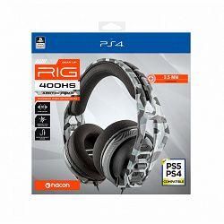 RIG 400HS artic cammo službene Sony Offiicial stereo headset for PS4™/PS5™ žičane gaming slušalice
