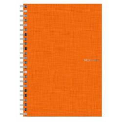 Bilježnica Fabriano A5 85g 70L spiralna crte arancio 14821313