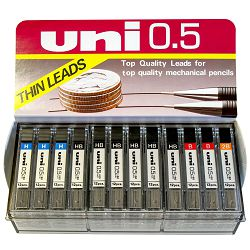 Mine za tehničku olovku Uni ul-1405/5d (0.5) displej 60/1