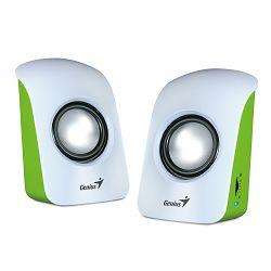 Zvučnici Genius SP-U115 USB bijelo-zeleni