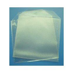 Etui za CD/DVD, PVC sa zaštitinim poklopcem (100 komada)