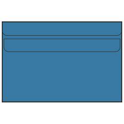 Kuverta Fornax B6-5 latex 125x176mm 75g 100/1 (plava)