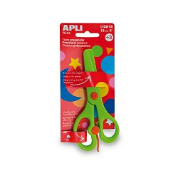 Škare dječje Apli zelene 13cm 12815