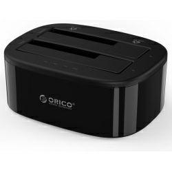 "Orico Docking stanica 2×2.5""/3.5"" SATA HDD, funkcija kloniranja, USB3.0 (ORICO 6228US3-C)"