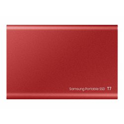 SAMSUNG Portable SSD T7 2TB red