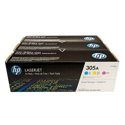 Toner HP CF370AM 3-pack (CE411A+CE412A+CE413A) 305A