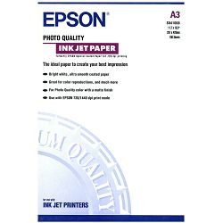 Papir Epson S041068 photo quality ink jet paper A3 102g 100L