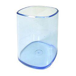 Čaša za olovke Arda transparent plava TR4111BL