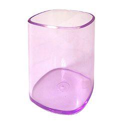 Čaša za olovke Arda transparent ljubičasta TR4111VI