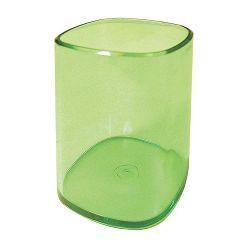 Čaša za olovke Arda transparent zelena TR4111V