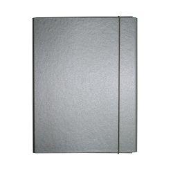 Fascikl kartonski Exclusive Pearly sa gumicom 5cm sivi Dorian gray