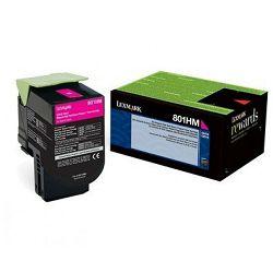Toner Lexmark 80C8HM0 magenta 3k